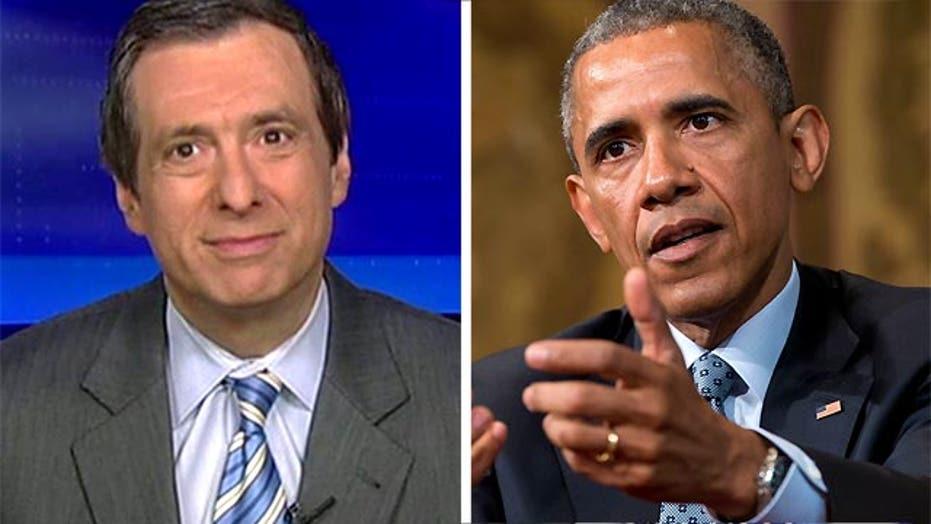 Kurtz: Obama swipes at Fox News, again