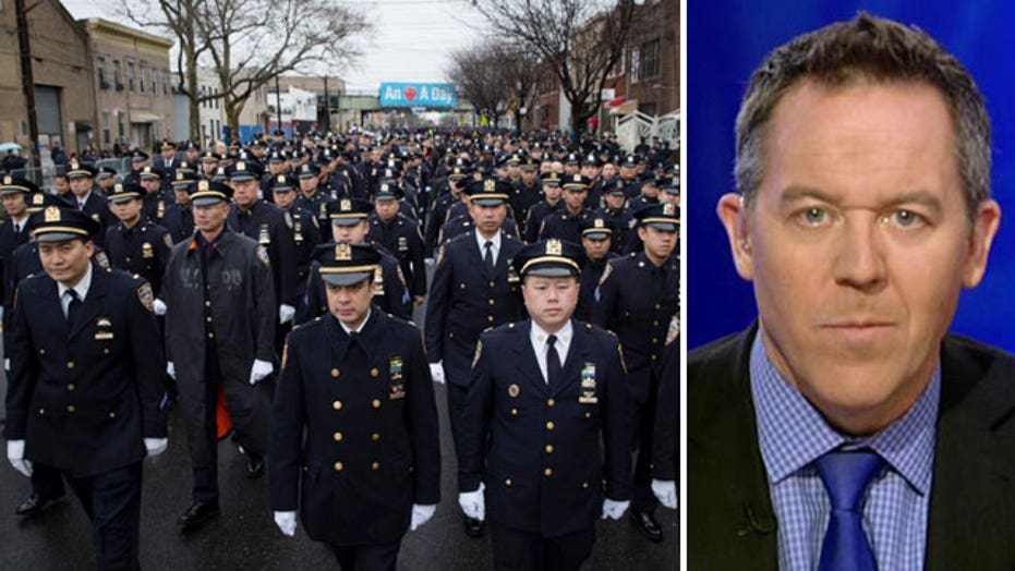 Gutfeld: A thin blue line separates us from the horribles
