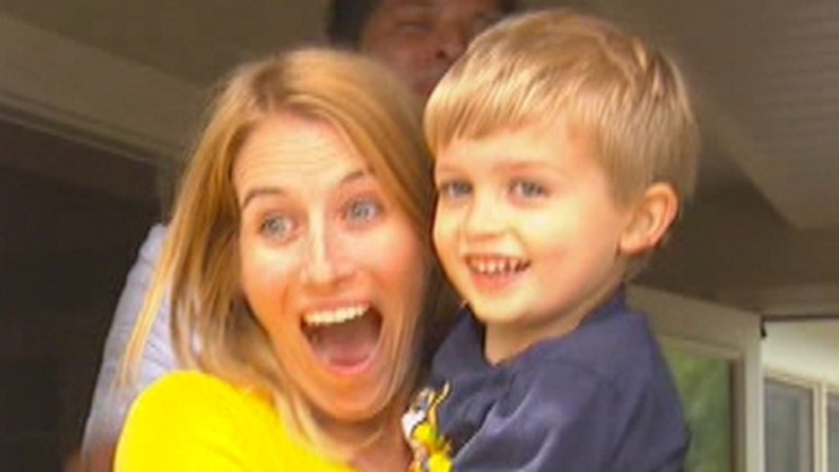 Boy fighting brain tumor has 'best day ever'