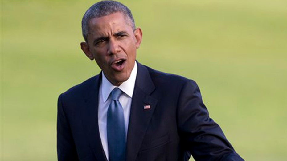 Obama takes dig at Fox while discussing war on poverty