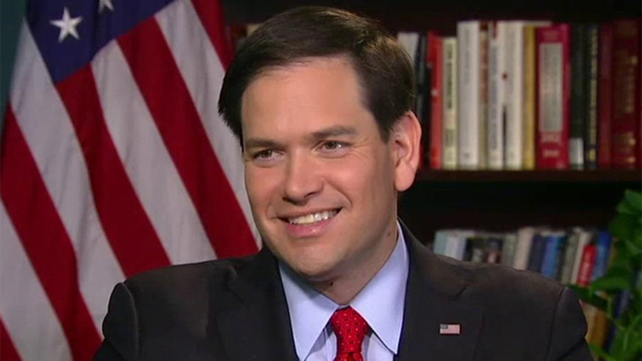 Marco Rubio talks foreign policy, immigration reform