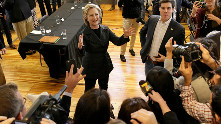 Hillary Clinton breaks silence, answers reporters' questions