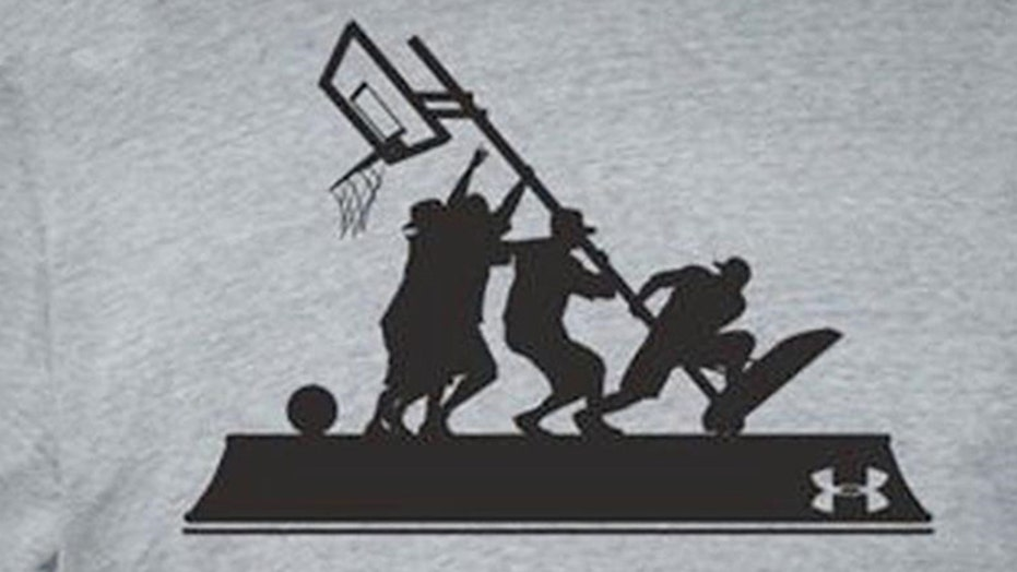 Outrage over T-shirt that compares basketball to Iwo Jima