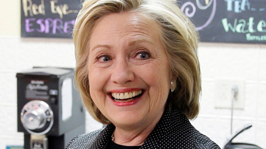 Is Clinton campaigning as president not for president?