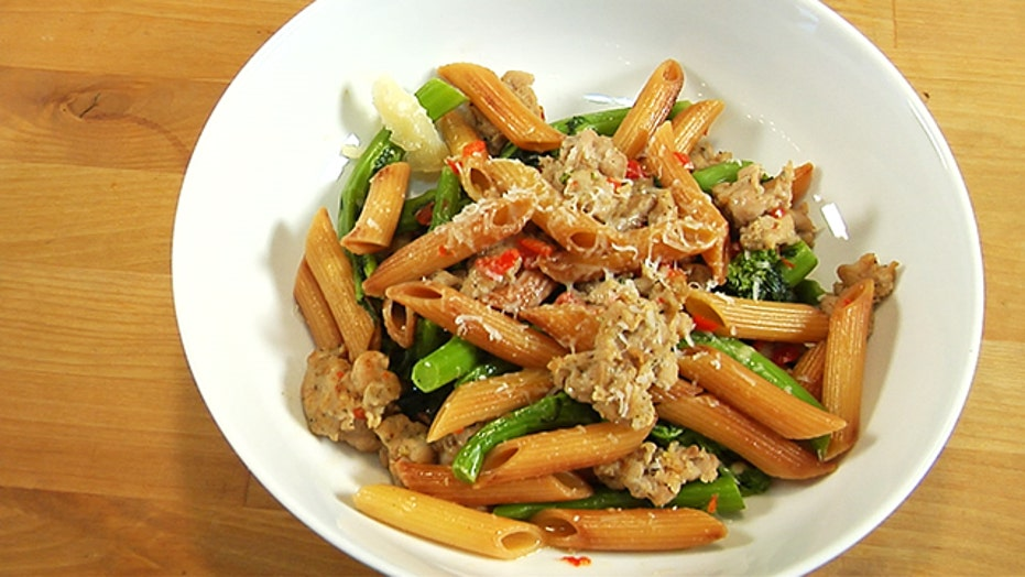Keith Schroeder's Recipe for Toasted Penne