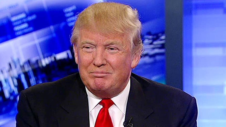 Donald Trump: 'I want to make the country great again'