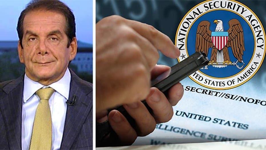 Krauthammer: Surveillance not police-state