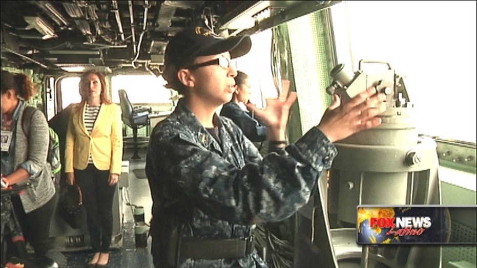 Fleet Week: Latina sailors strengthen U.S. Navy