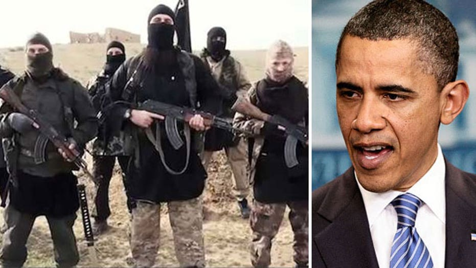 Obama sticking with ISIS strategy despite recent 'setbacks'