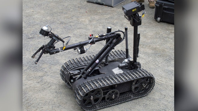 United States Marine Corps on how robots are saving lives