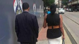 Viral picture shows lack of modern chivalry