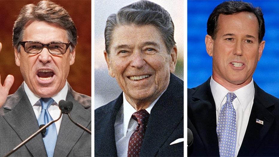2016 GOP hopefuls violating Reagan's '11th Commandment'?