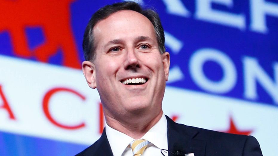 Rick Santorum to declare candidacy for president