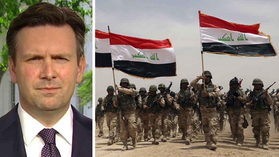 White House: Our ISIS strategy is to support the Iraqi gov't