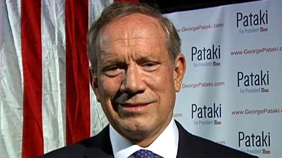 George Pataki on Fox News: I am running for president