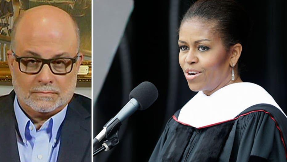 Mark Levin slams Michelle Obama's graduation speech