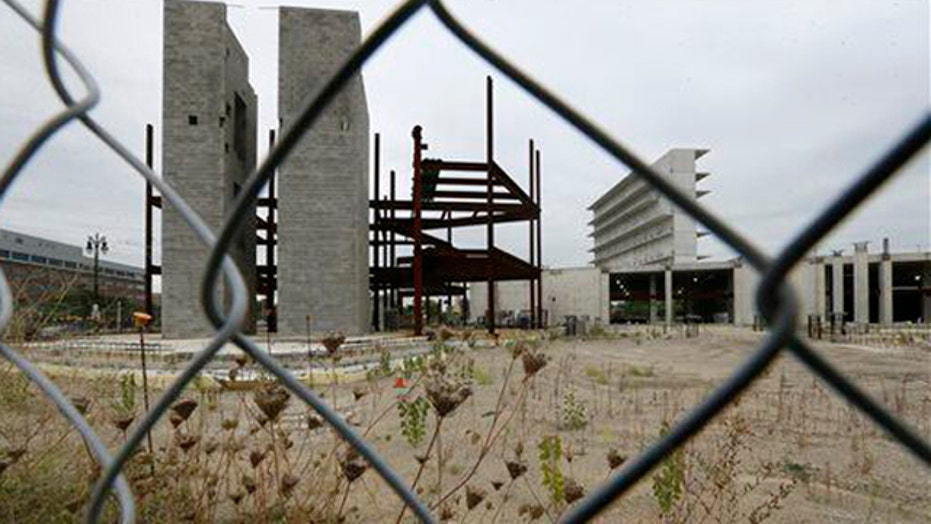 Grapevine: Jail construction halted, but meter is running