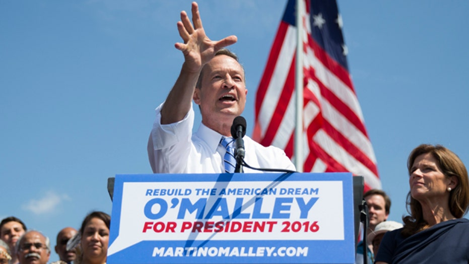 Former Maryland governor Martin O'Malley announces 2016 bid