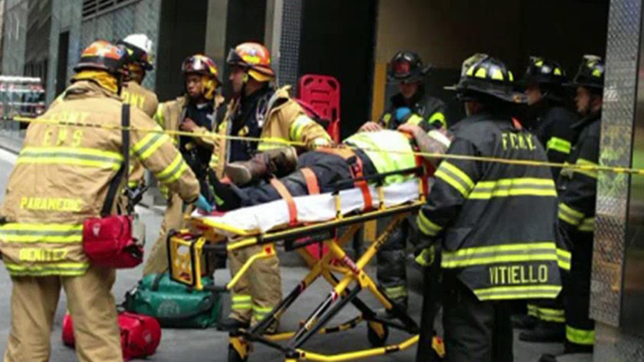 Multiple injuries in NYC crane accident