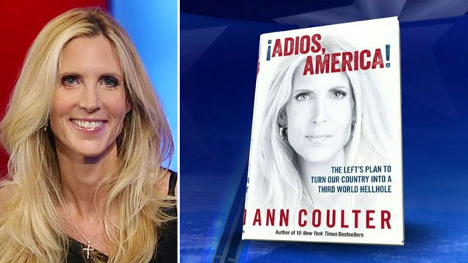 Ann Coulter lays out case in new book 'Adios, America'