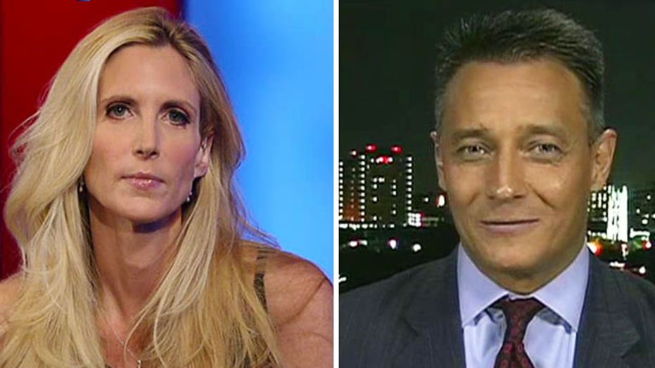 Ann Coulter goes head-to-head with pro-immigration supporter