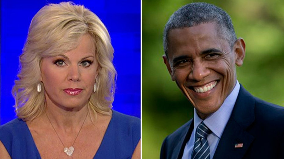 Gretchen's Take: Obama puts a positive spin on his legacy