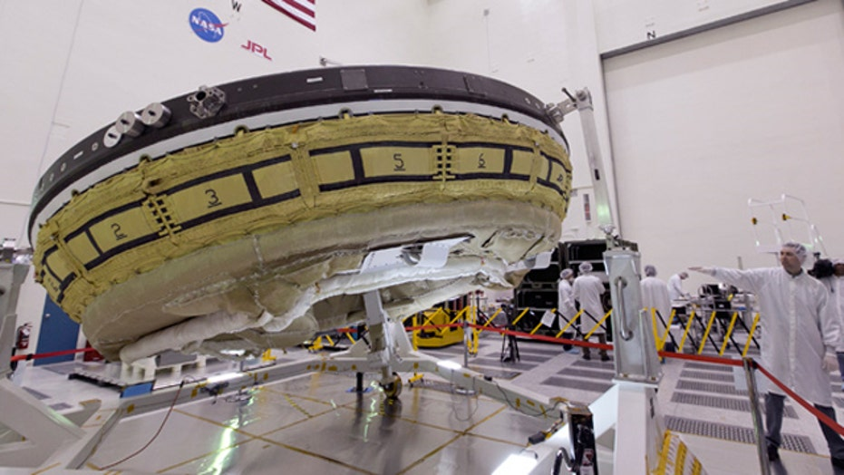 Why NASA is launching a 'flying saucer'