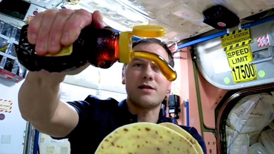 Space cook off: Aspiring chefs cook for astronauts