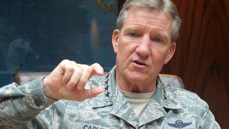 General: US used social media post to target ISIS building