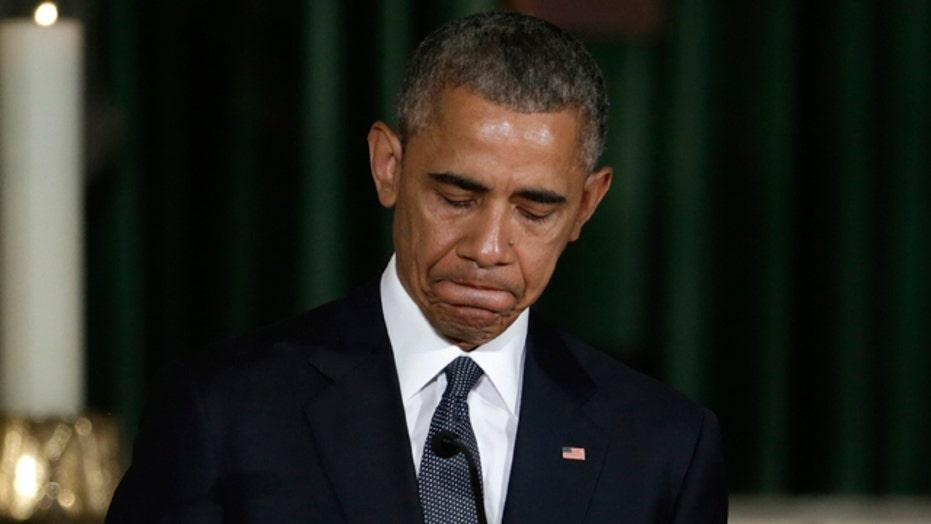 President Obama delivers the eulogy for Beau Biden