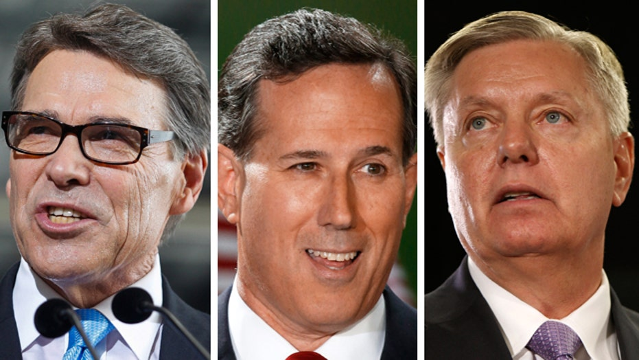Does a crowded GOP field help or hurt the eventual nominee?