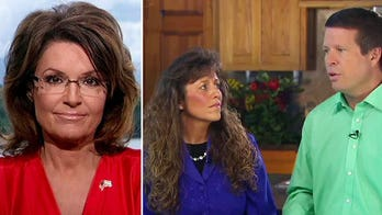 Sarah Palin blasts the media's double standard for Duggars