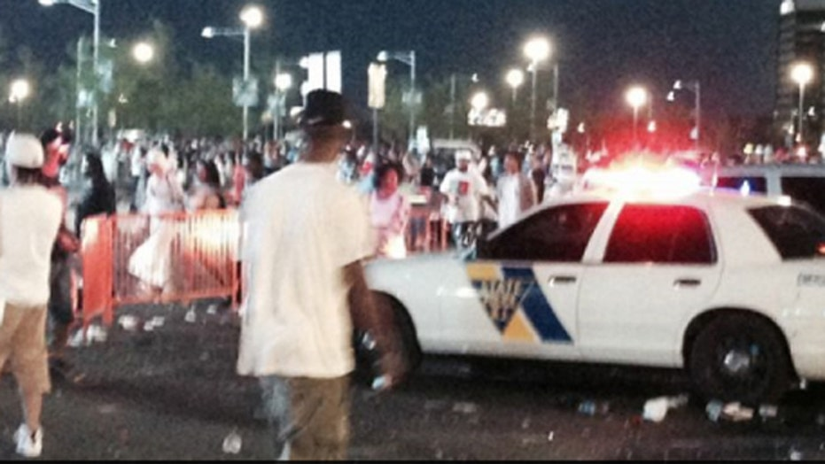 Arrests made as crowd turns rowdy outside New Jersey concert