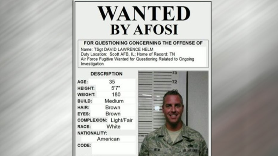 US airman disappears days before court-martial