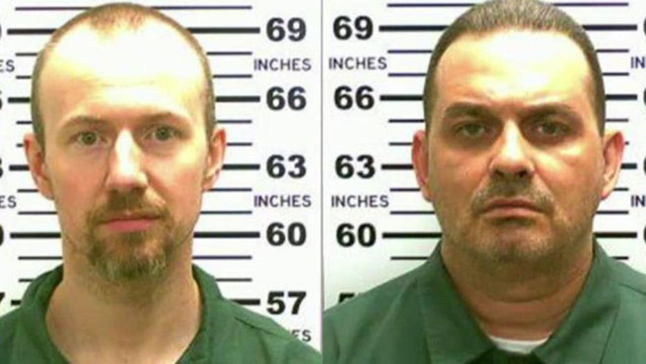 Inmates escape from NY prison in 'Shawshank-style' break