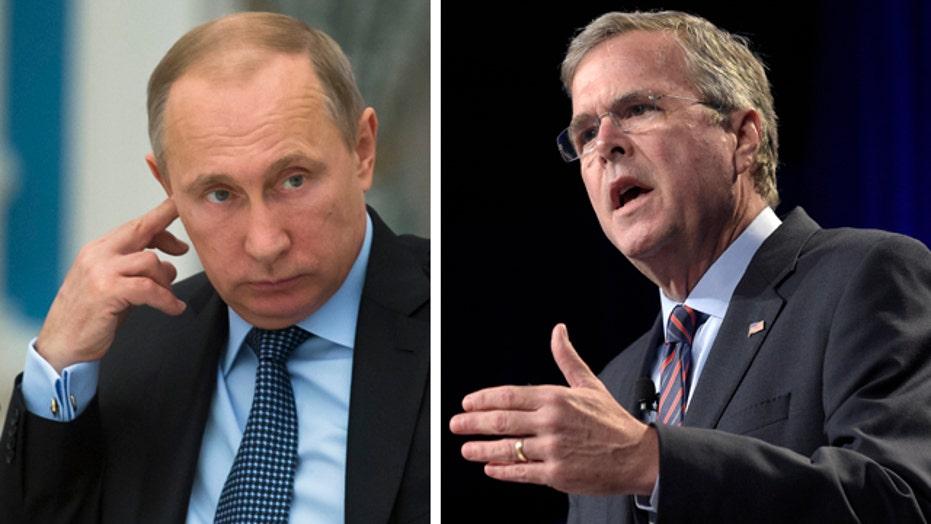 Jeb Bush planning tough talk on Putin during Europe trip