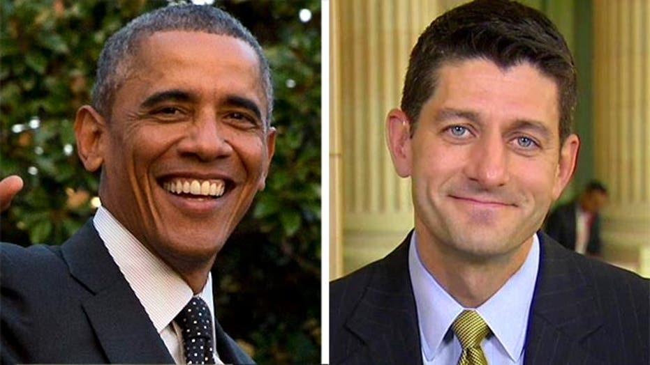 Obama and Paul Ryan, GOP strange bedfellows in trade bill