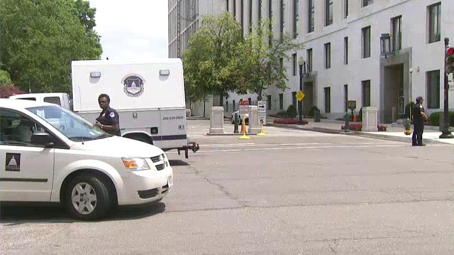 US Senate building evacuated after suspicious package report