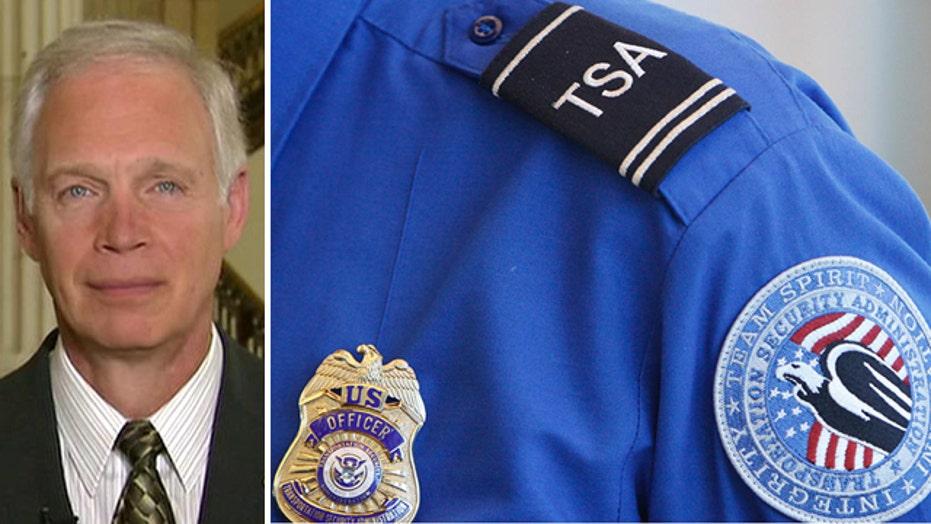 Sen. Johnson calls for top-to-bottom evaluation of TSA