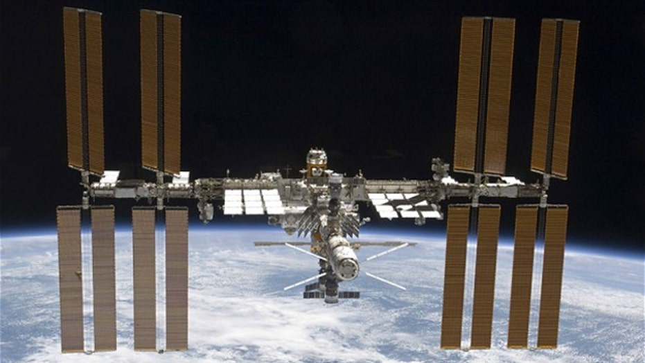 Engine misfire shifts orbit of International Space Station