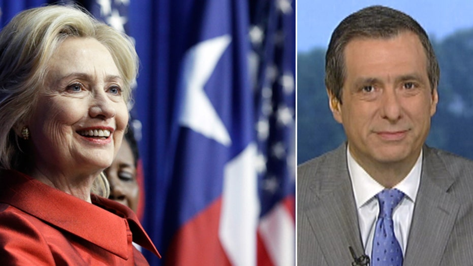 Kurtz: Hillary abandoning the center?