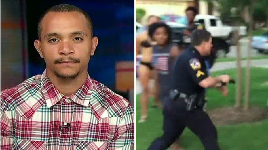 Teen who Texas cop drew gun on at pool party speaks out