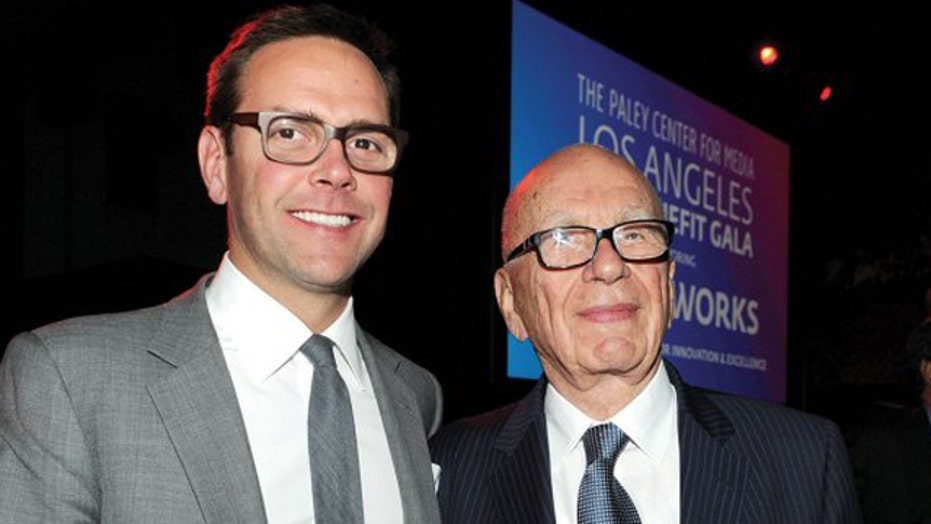 Rupert Murdoch giving CEO position to son James Murdoch