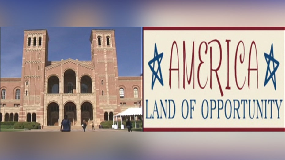 Is phrase 'America is the land of opportunity' offensive?