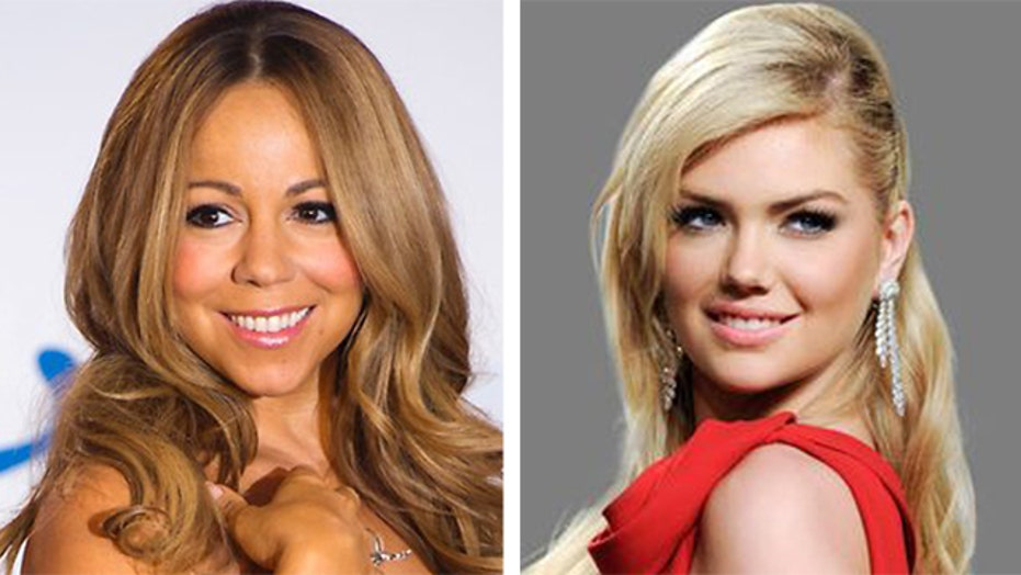 Mariah Carey taking over for Kate Upton?