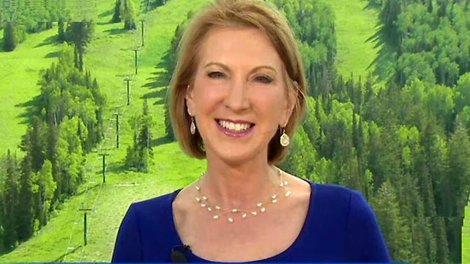 Carly Fiorina on how she intends to help the poor