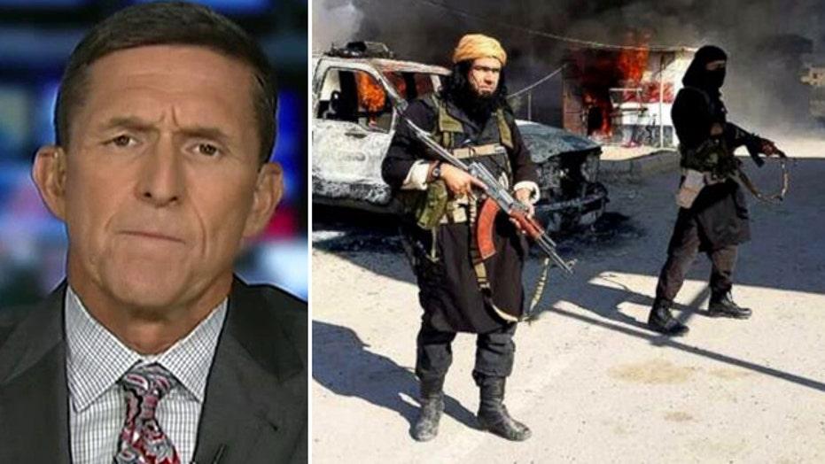 Flynn: ISIS is winning, feels emboldened