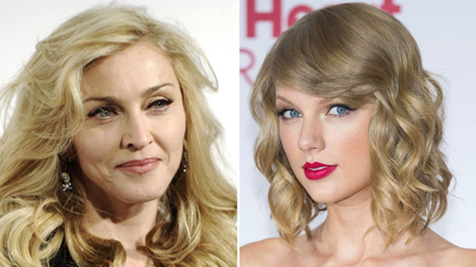 Is Madonna taking on Taylor?