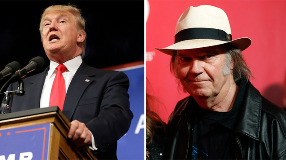 Neil Young doesn't like Donald Trump using his song