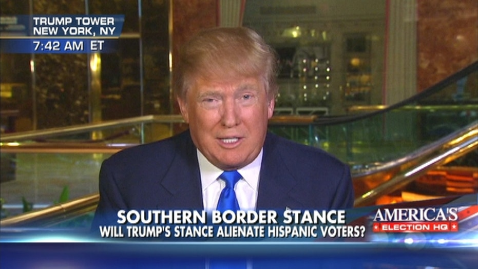 Donald Trump: Mexico is sending not their best and finest